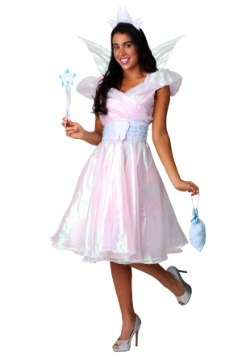 Women's Plus Tooth Fairy Costume