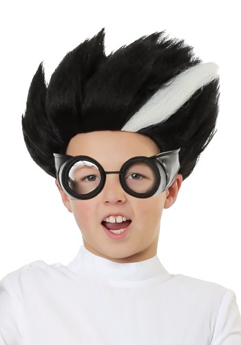 Child Mad Scientist Wig
