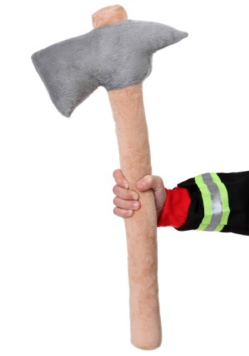 Child Plush Firefighter Ax
