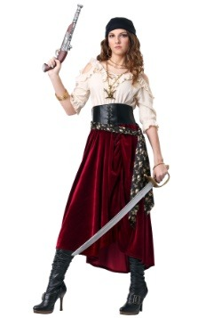 Women's Plus Size Roving Buccaneer Costume