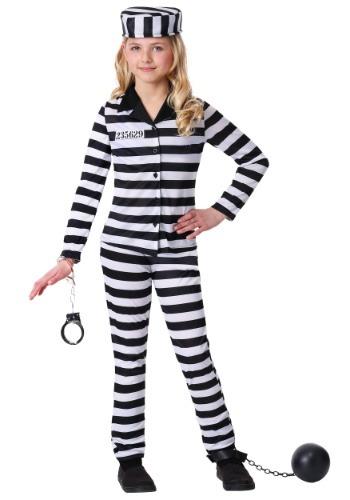 Girl's Incarcerated Cutie Costume