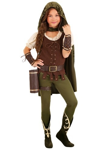 Girl's Robin Hood Costume