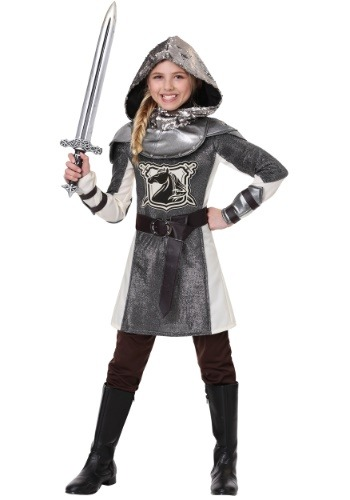 Girl's Medieval Knight Costume