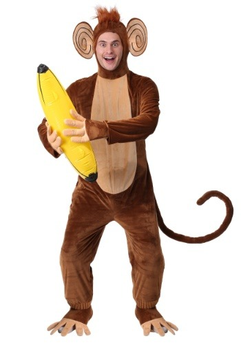 Mens Funky Monkey Costume