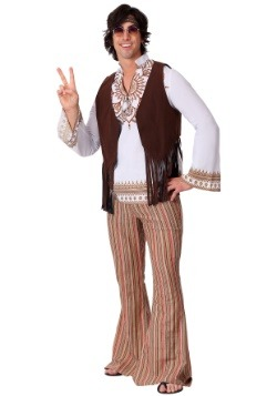 Men's Woodstock Hippie Costume