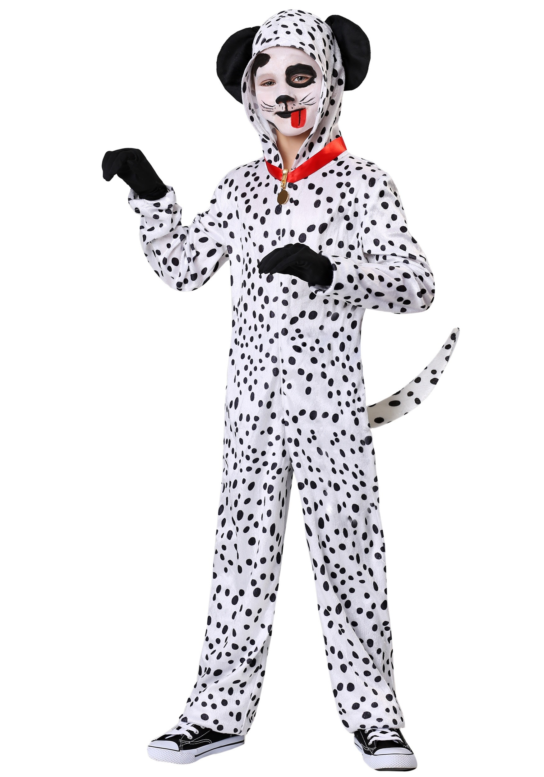Child Delightful Dalmatian Costume  sc 1 st  Halloween Costumes AU & Delightful Dalmatian Child Costume