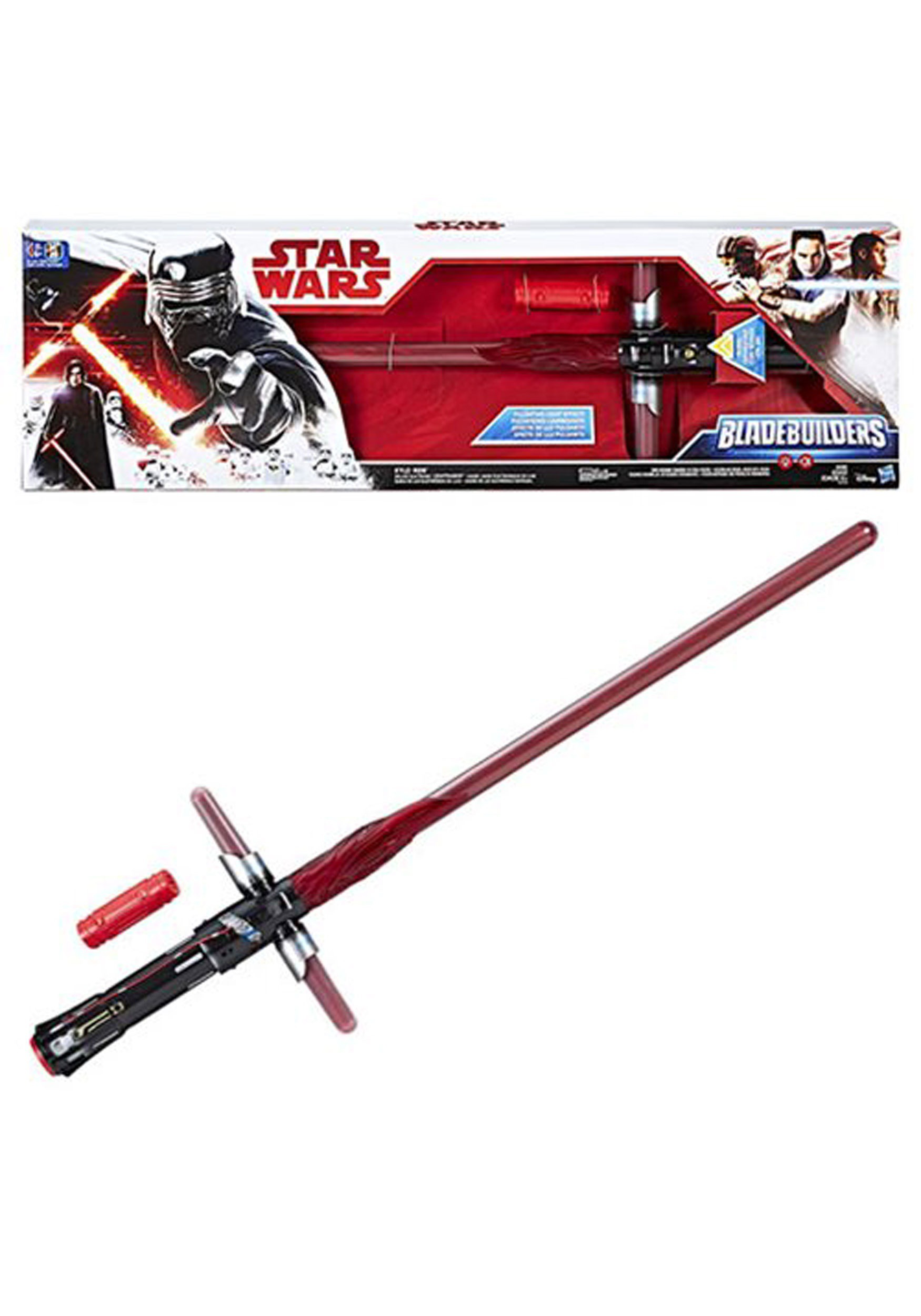INOpets.com Anything for Pets Parents & Their Pets Star Wars: The Last Jedi Kylo Ren Electronic Lightsaber