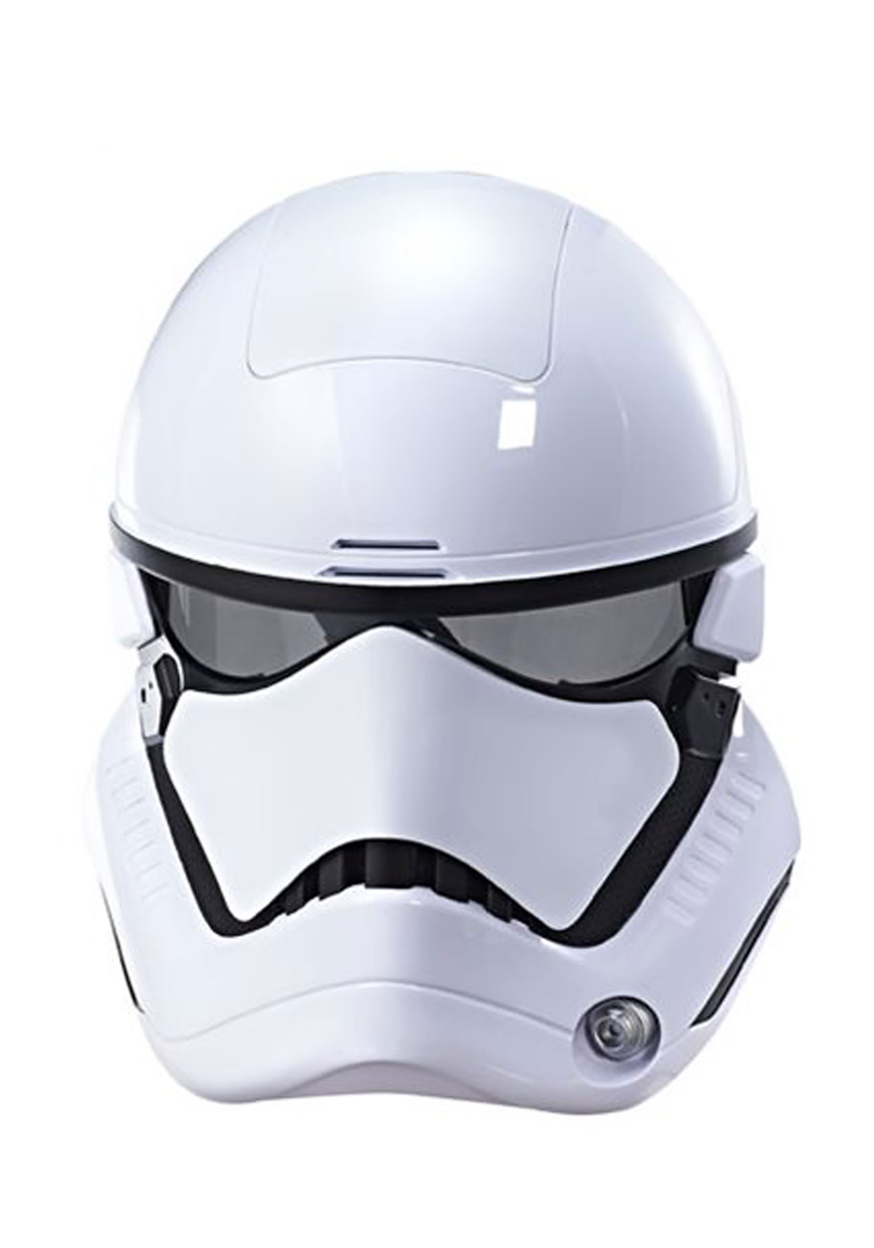 INOpets.com Anything for Pets Parents & Their Pets Star Wars: The Last Jedi Stormtrooper Electronic Mask