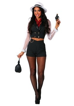 Womens Gangster Gal Costume