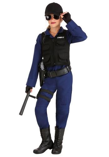 Girl's SWAT Team Sweetie Costume