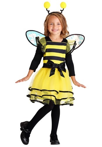 Little Bitty Girl's Bumble Bee Costume