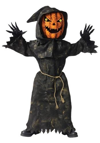 Kids Bobble Eyes Pumpkin Costume