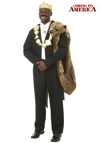 Plus Size Coming to America Akeem Costume
