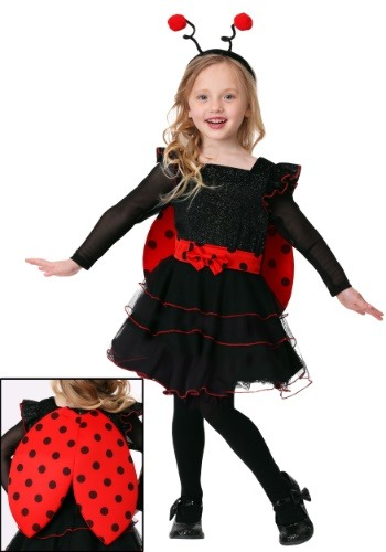Toddler Girl's Sweet Ladybug Costume