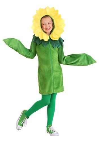 Girl's Flower Hoodie Dress