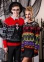 Dracula Vampire Ugly Halloween Adult Sweater update1 alt2