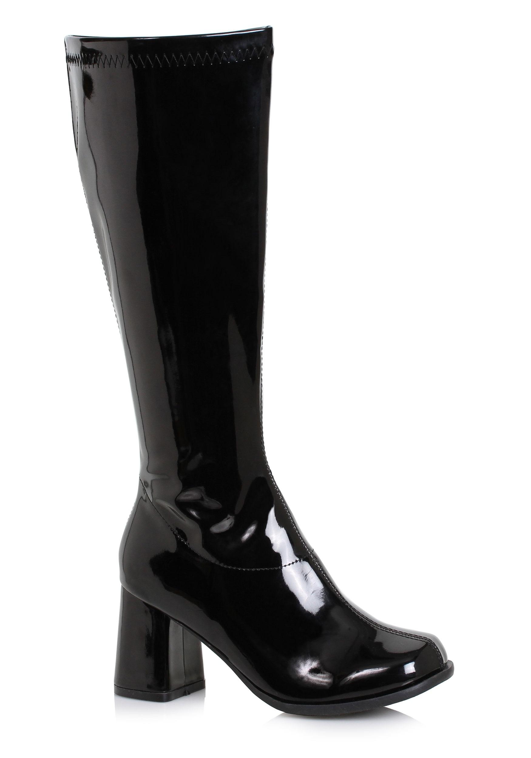 9a332f8719b Women's Black Wide Width Gogo Boots