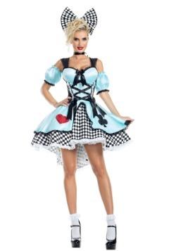 Flirtatious Alice Womens Costume