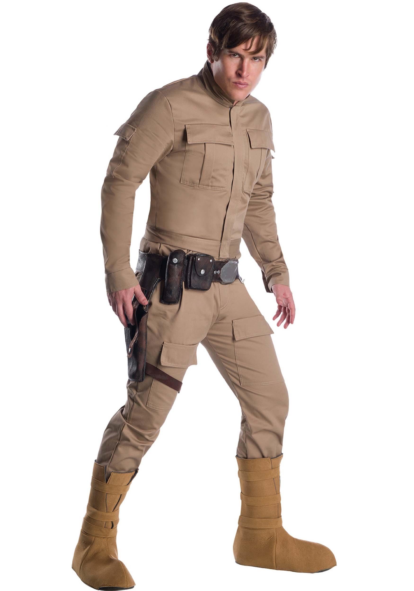 Star War Luke Skywalker Cosplay Shoes Men Boots