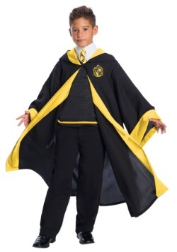 Deluxe Kids Hufflepuff Student Costume