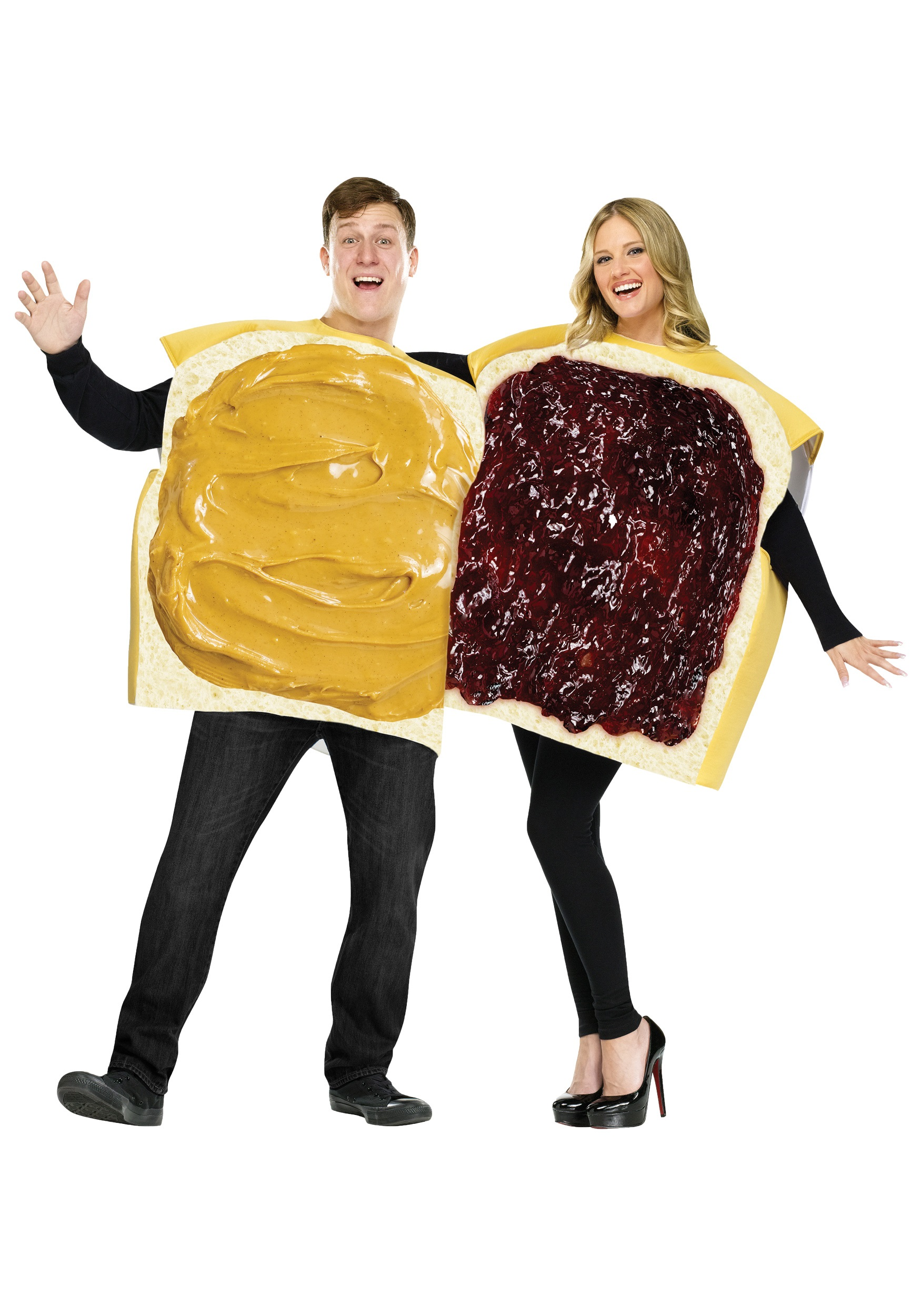 adult peanut butter and jelly costume - Halloween Food Costume