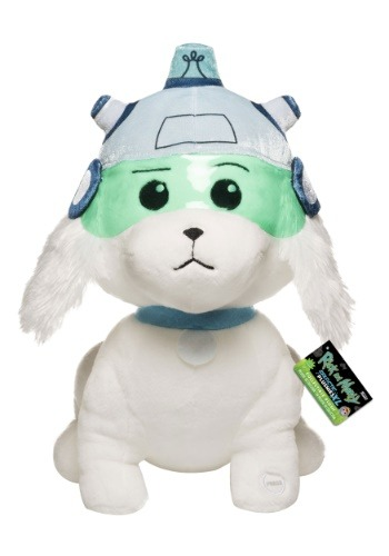 """Snowball 12"""" Rick and Morty Plush w/ Sound"""