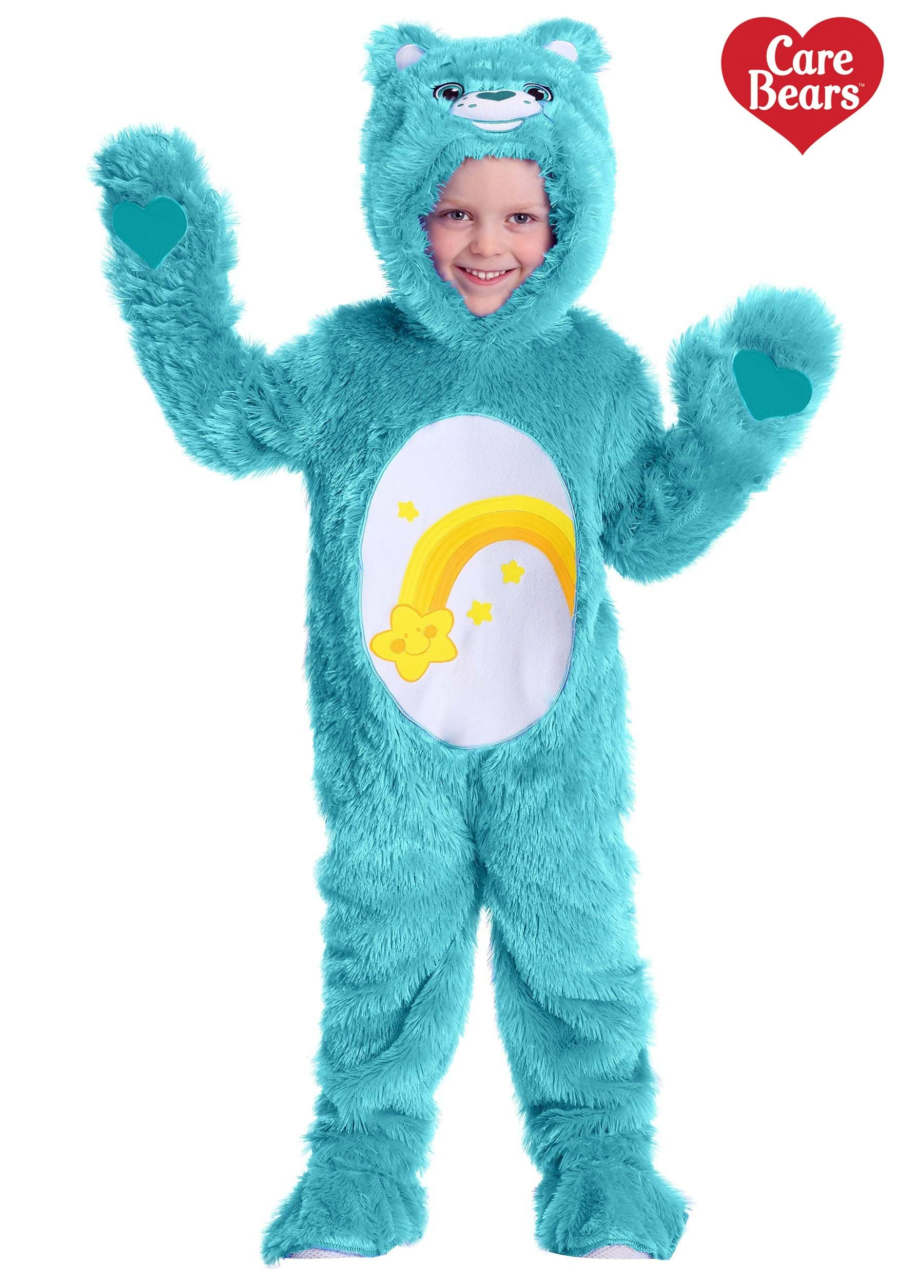 Care Bears Toddler Wish Bear Costume  sc 1 st  Halloween Costumes UK & Toddler Care Bears Wish Bear Costume