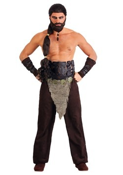 Nomadic Horse Warrior Costume Men's