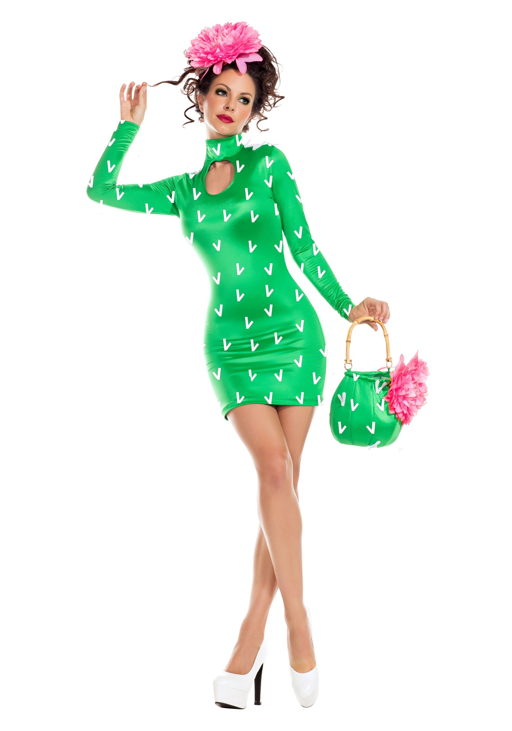 INOpets.com Anything for Pets Parents & Their Pets Sexy Cactus Costume for Women