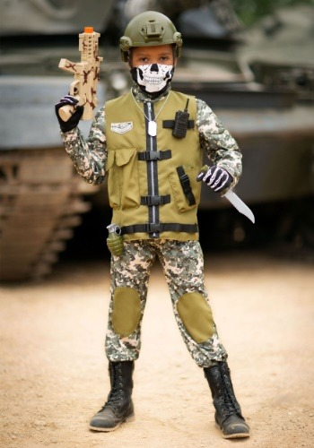 Kid's Camo Trooper Costume