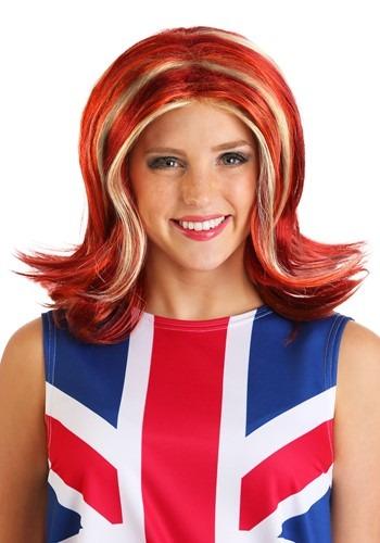 British Girl Power Women's Wig