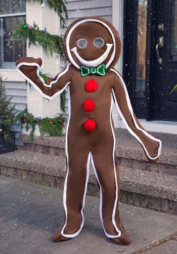 Child Iced Gingerbread Man Costume