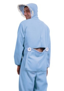 Blue Adult Baby Pajamas Costume