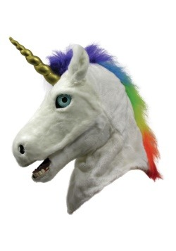 Unicorn Moving Mouth Adult Mask