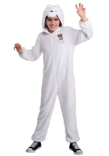 We Bare Bears Ice Bear Child Costume