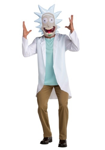 Adult Rick and Morty Rick Costume