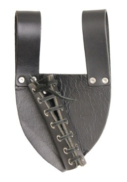 Black Waist Sword Holder