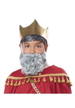 Wise Man Gray Beard and Mustache