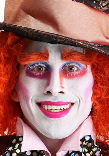 Adult Mad Hatter Orange Eyebrows