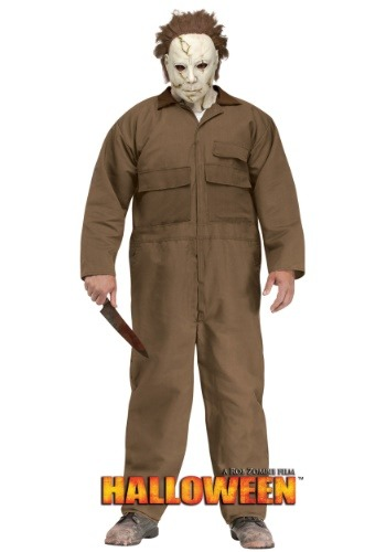Rob Zombie Halloween Michael Myers Men's Plus Size Costume