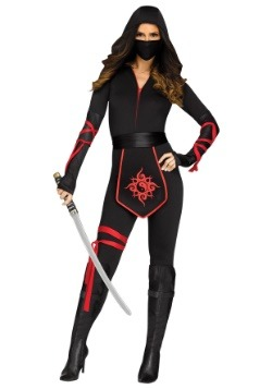 Sexy Ninja Warrior Women's Costume