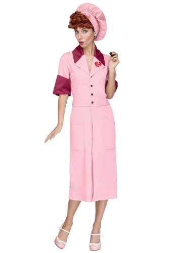 I Love Lucy Womens Candy Factory Costume