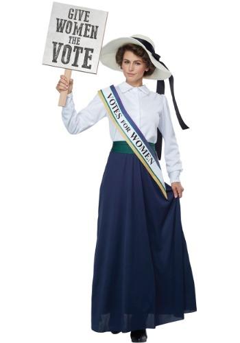 Women's American Suffragette Costume