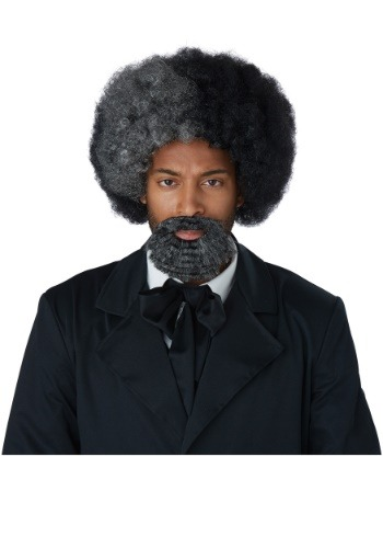 Adult Frederick Douglass Wig and Goatee