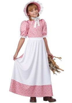 Girl's Early American Girl Costume