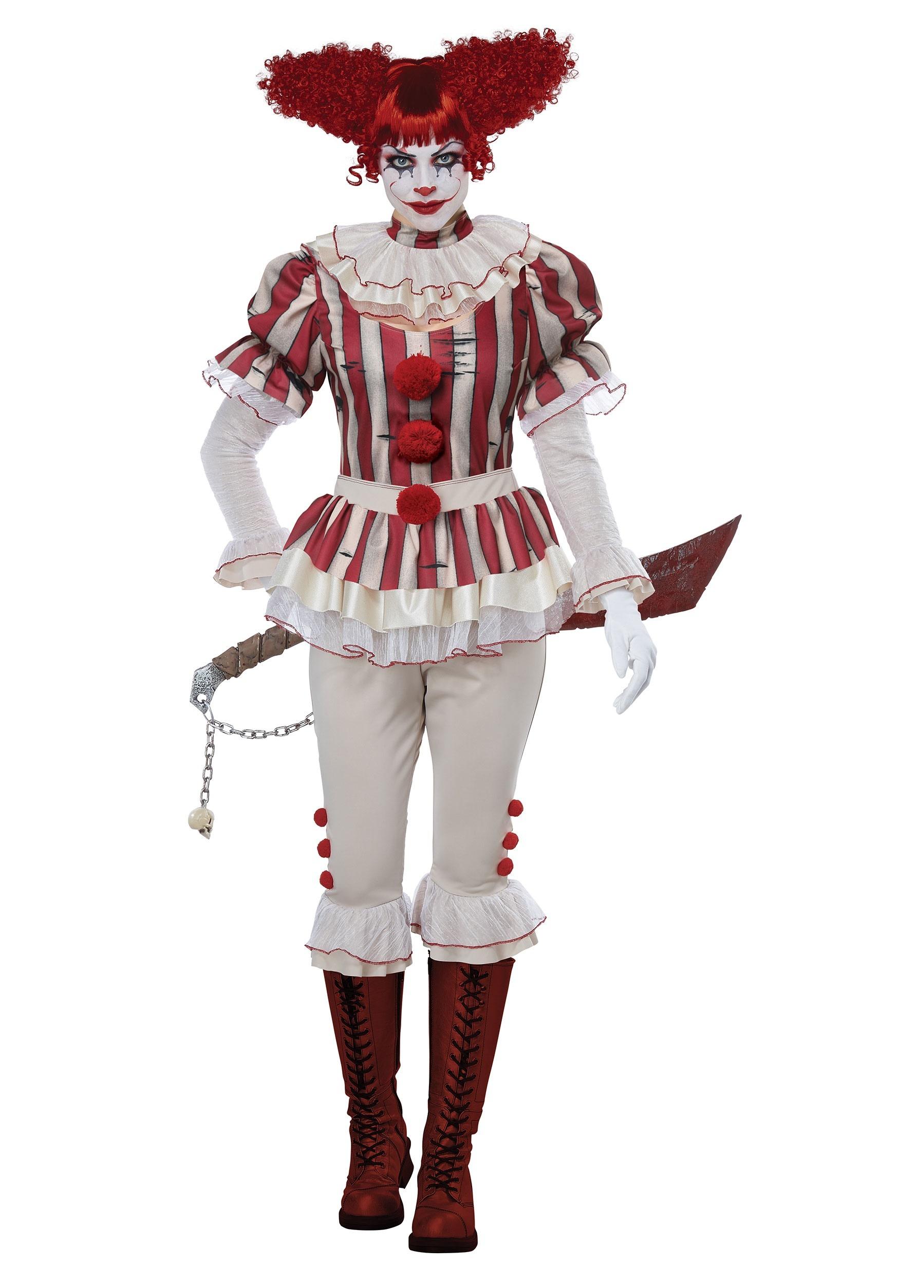 Women S Sadistic Clown Costume