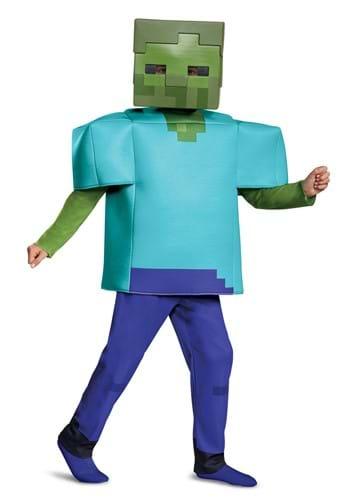 Minecraft Deluxe Kid Zombie Costume
