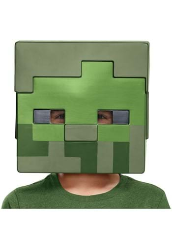 Child's Minecraft Zombie Half Mask