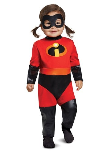 Incredibles 2 Deluxe Infant Violet Jumpsuit Costume