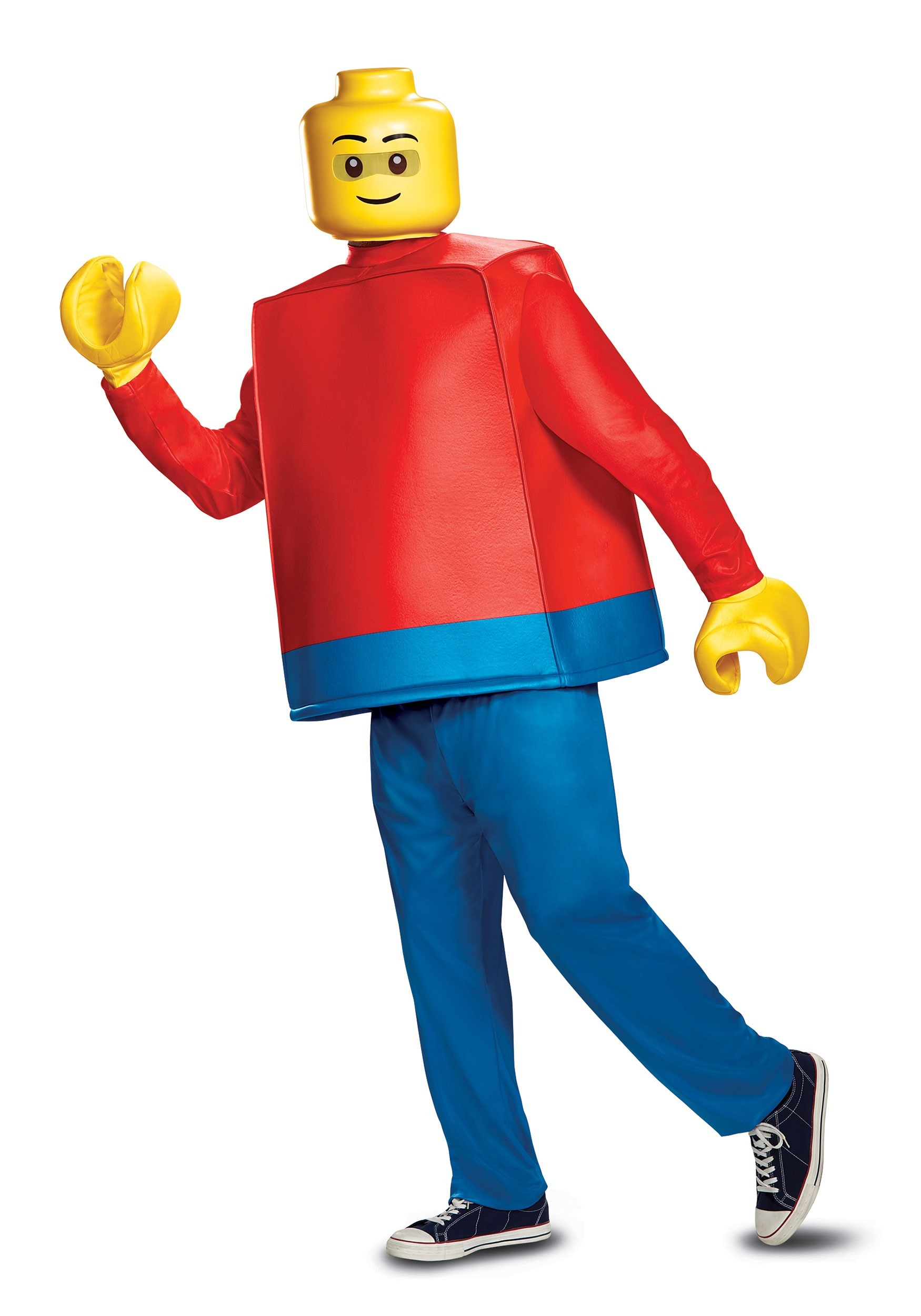 how to make a lego guy costume